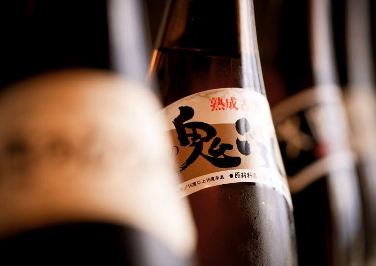 Japanese beers at Nobu Perth