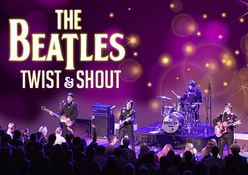 The Beatles Twist and Shout logo