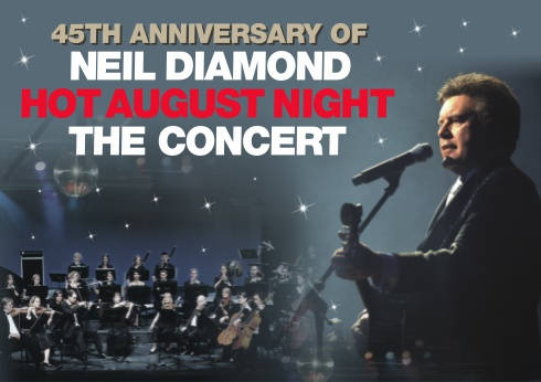 Neil Diamond Orchestrated - Live Concert at Crown Theatre Perth