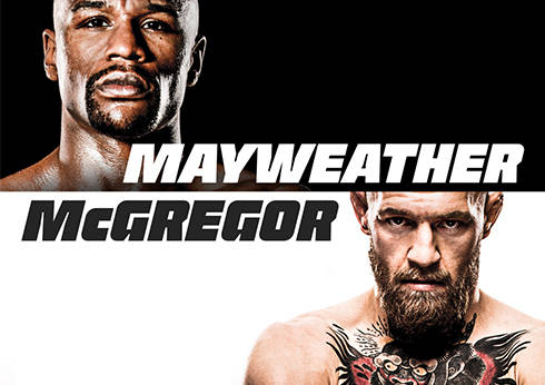 Crown Perth Sports Bar Boxing Mayweather vs McGregor