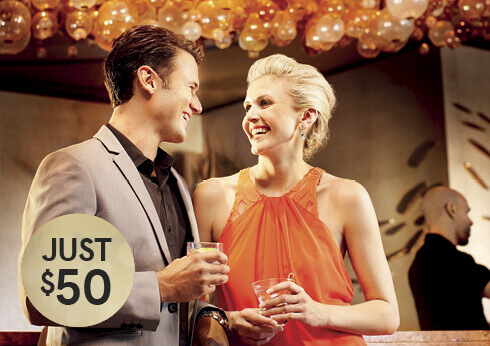 $50 Ultimate Lunch & Dinner at Crown Perth