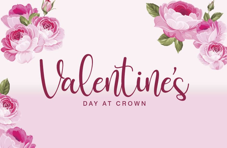 Crown Perth Valentine's Day