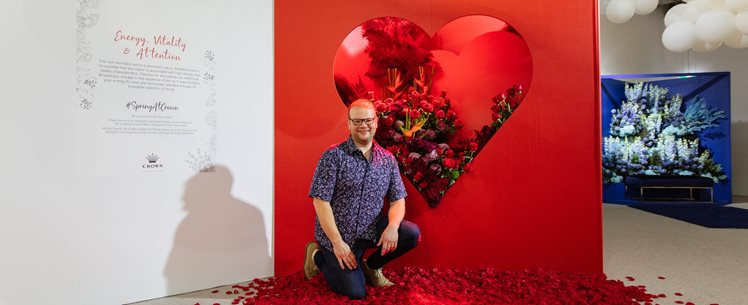 Q&A with spring floral installation artist Matthew Landers